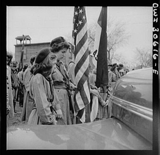 Girl Scouts - Memorial Day 1940 - Ashland, Maine