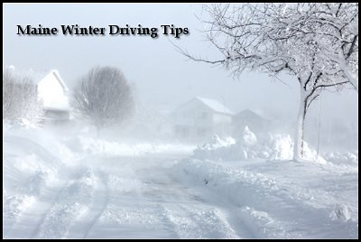 Maine Winter Driving Tips